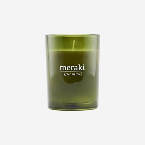 Meraki Duftlys Green Herbal large