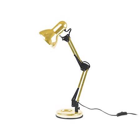 Image of   Present Time Skrivebordslampe Hobby i forgyldt metal