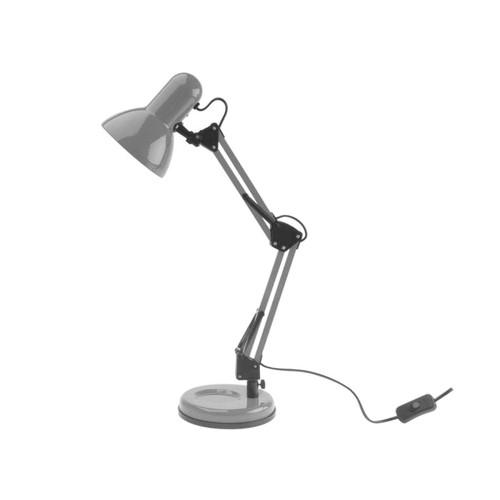 Image of   Present Time Skrivebordslampe Hobby i grå metal