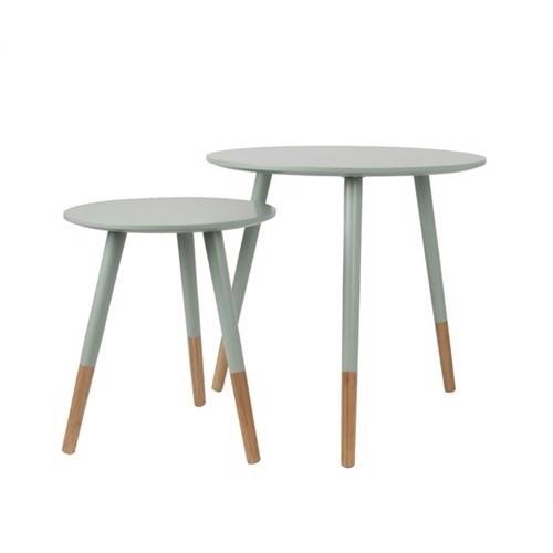 Image of   Present Time bord sæt Graceful i grøn og træ.
