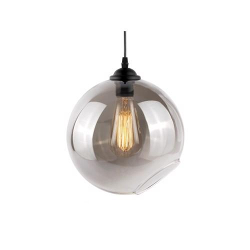 Image of   Present Time Loftlampe pendel Oiled Globe i glas