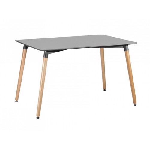 Image of   Present Time Elementary spisebord i mørkegrå og bøgetræ