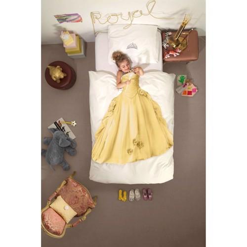 Image of   Snurk sengetøj Prinsesse gul