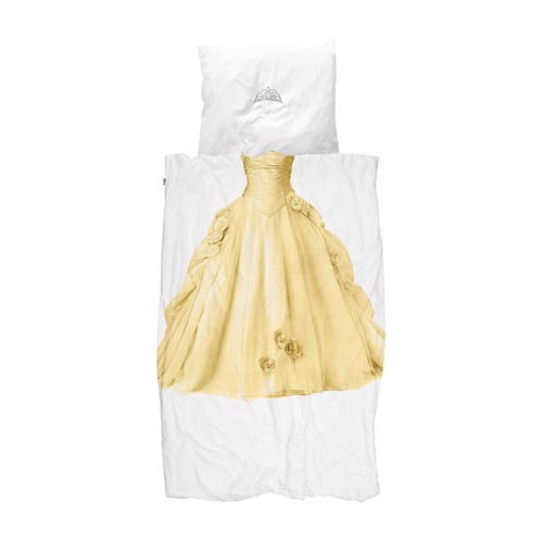 Image of   Snurk sengetøj Prinsesse gul junior