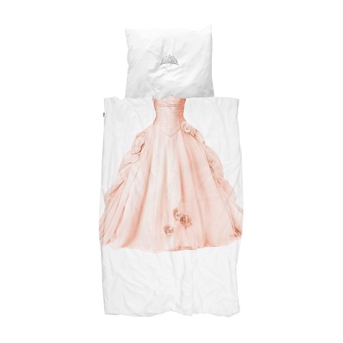 Image of   Snurk sengetøj Prinsesse pink junior