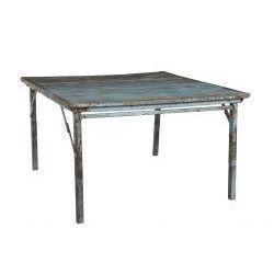 Trademark Living Gammelt blå bord
