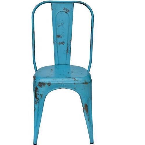 Image of   Trademark Living Stol i blå