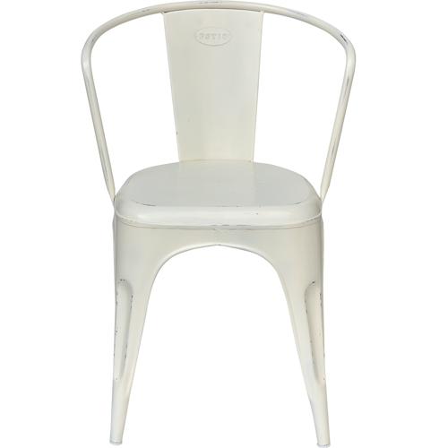 Billede af Trademark Living stol Hvid