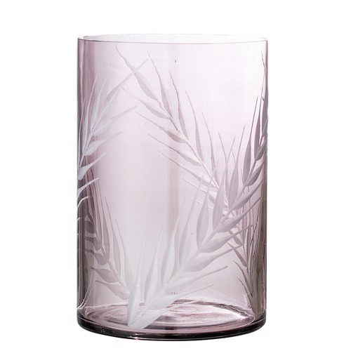 Bloomingville Vase Glas Lilla