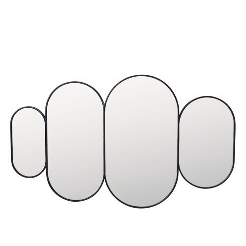 Broste Copenhagen Spejl Pelle Sort