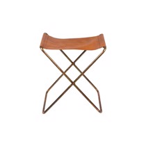 Broste Copenhagen Taburet Nola Copper Finish