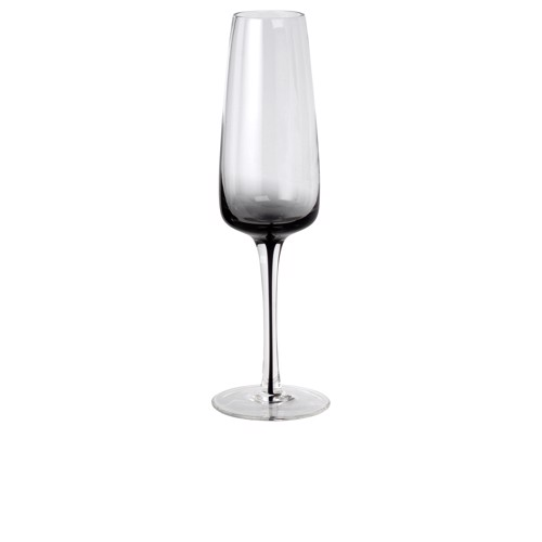 Image of   Broste Copenhagen Smoke champagne glas