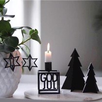 Felius Design Julepynt Sort God jul