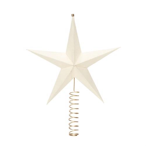 Image of   Hübsch Julepynt Topstjerne til juletræ