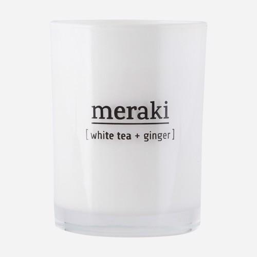 Meraki Duftlys White Tea