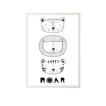 A little lovely company - Plakat ROAR - 50x70
