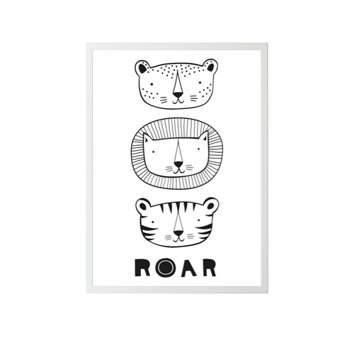 Image of   A Little Lovely Company plakat ROAR
